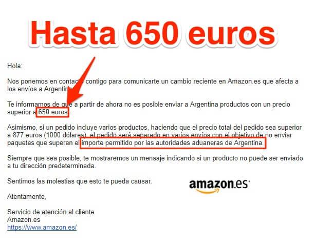 limite 650 Euros
