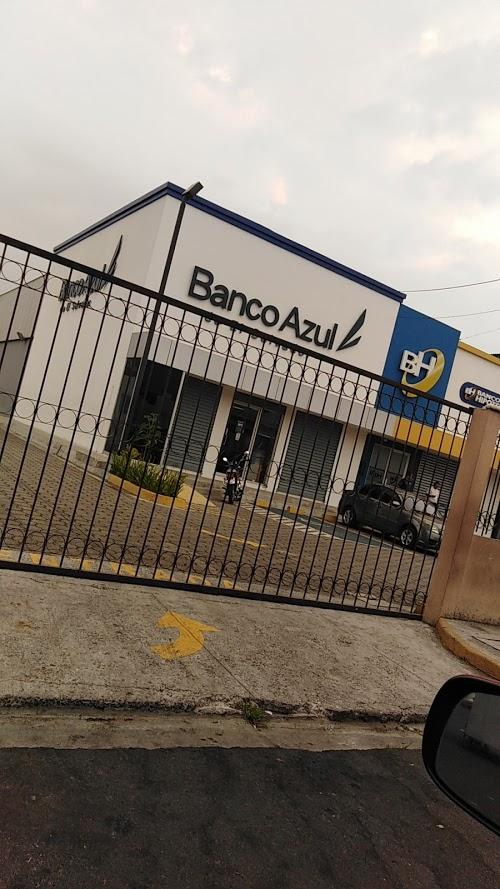 Foto de Banco Azul