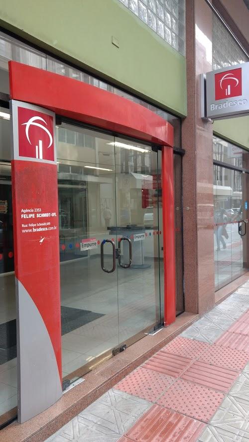 Foto de Banco Bradesco - Rua Felipe Schmidt