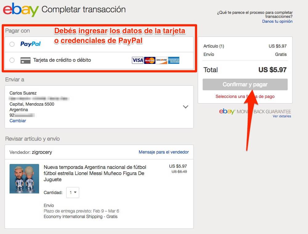 Queres Comprar En Ebay Desde Argentina Sin Problemas Aca Los Detalles